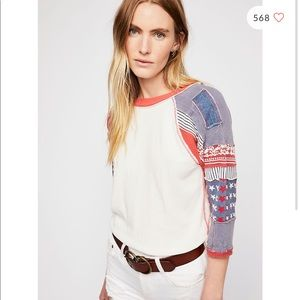 Free People We the Free Bright Star Tee